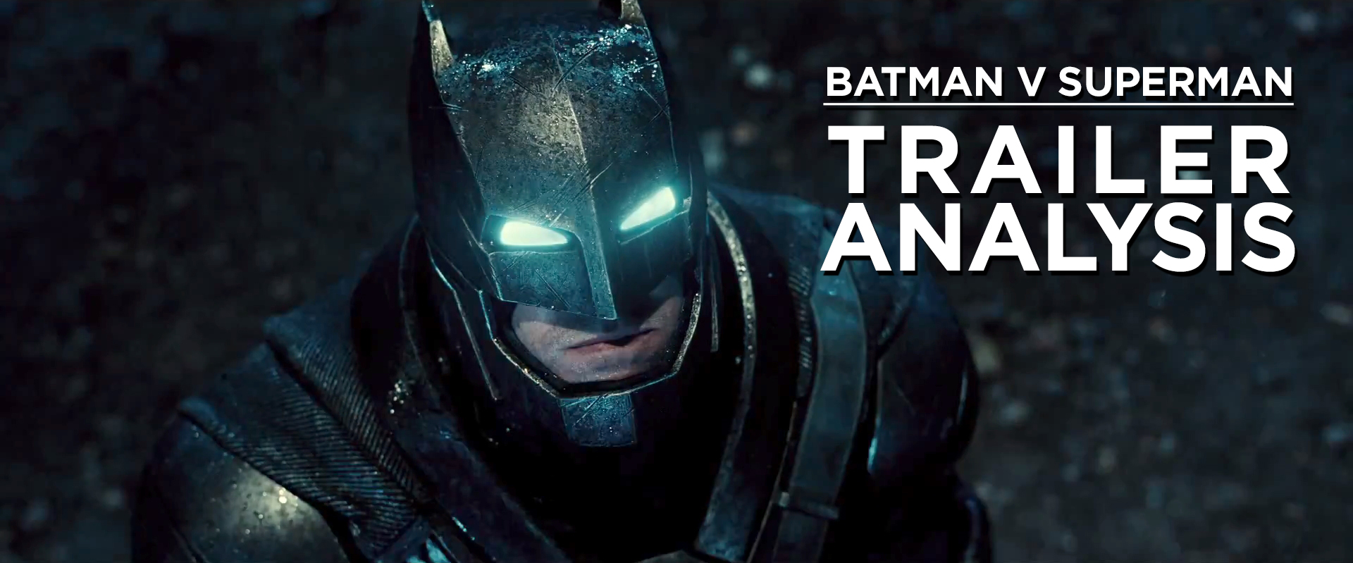 batman v superman trailer analysis