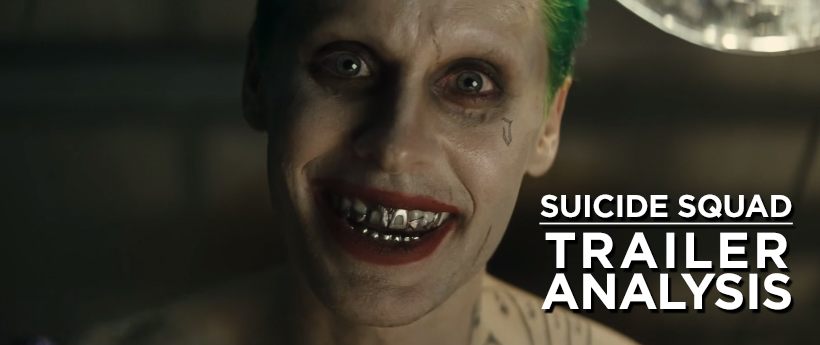 suicide squad trailer analysis