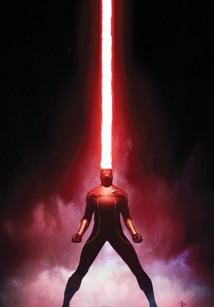 cyclops xmen shooting sky