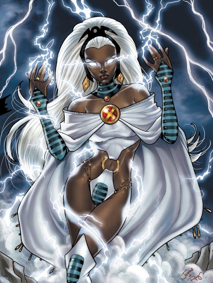 storm xmen lightning
