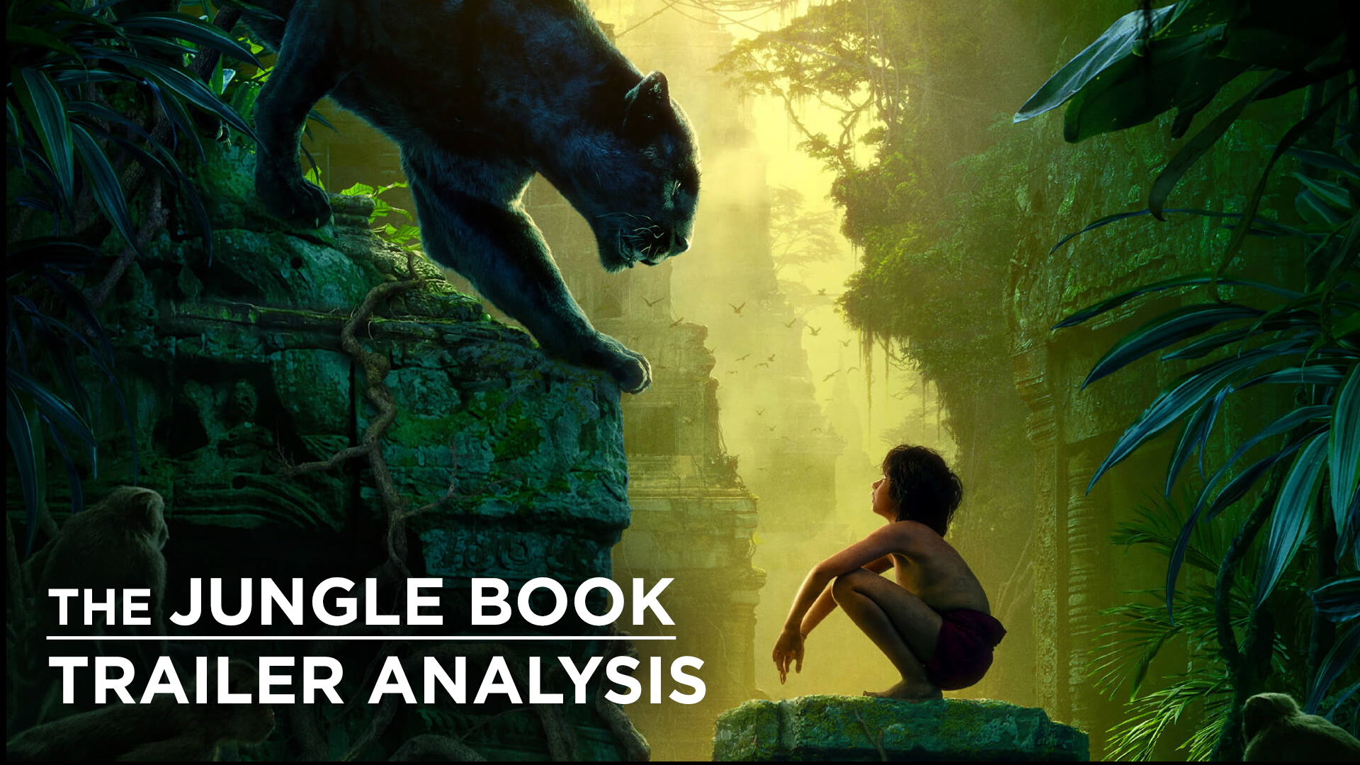 The Jungle Book Trailer Analysis