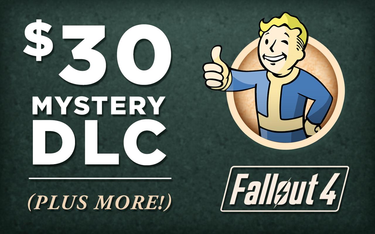 fallout 4 mystery DLC annnouncement